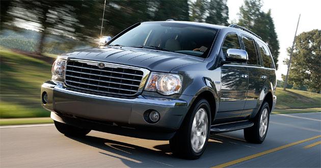 The Chrysler Aspen Hybrid rates a fairly impressive 20mpg in town