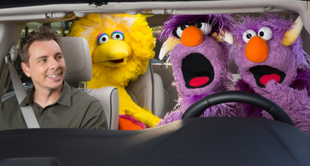 Chrysler Pacifica Hybrid Sesame Street advertisement