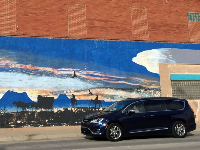 2017 Chrysler Pacifica Limited, long-term road trip