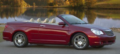 Chrysler S New Drop Top Sebring