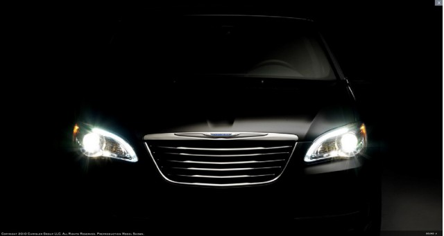 2011 Chrysler 200 teaser
