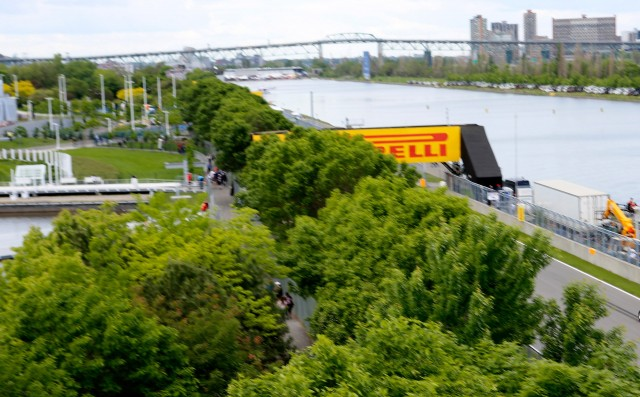 Circuit Gilles Villeneuve, home of the Formula 1 Canadian Grand Prix