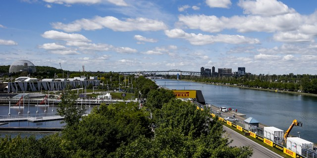 Circuit Gilles Villeneuve, home of the Formula One Canadian Grand Prix