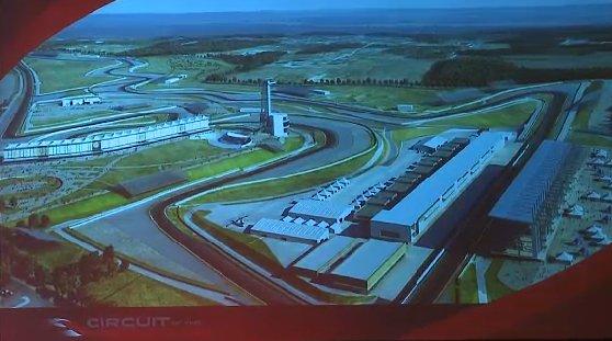 Circuit of the Americas rendering