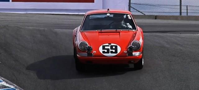 Classic Porsche 911 at the Rennsport Reunion IV