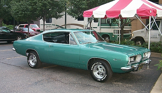 classic Plymouth Barracuda