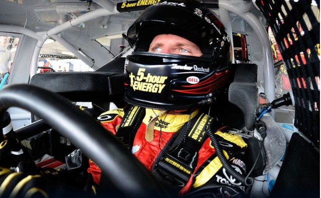 Clint Bowyer in Richmond - image courtesy of Michael Waltrip Racing