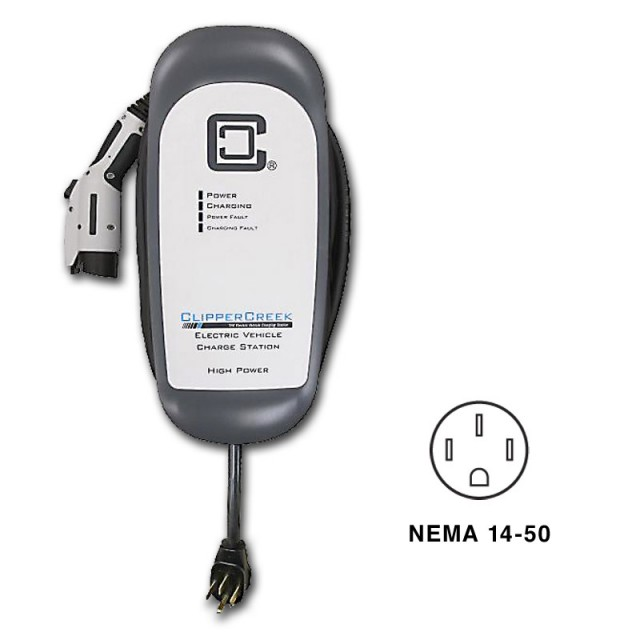 Clipper Creek Hcs 40 Electric Car Charging Station Evse