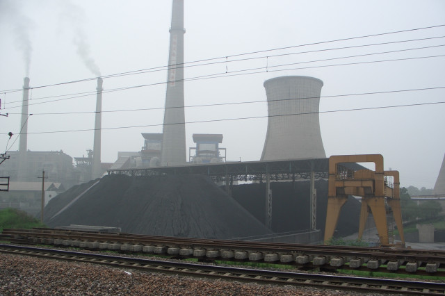 Coal power plant in China