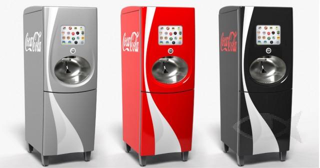 Coca-Cola 'Freestyle' machine by Pininfarina [via Dexigner]