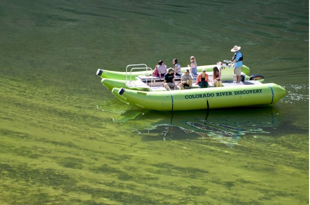 Colorado River Discovery electric raft