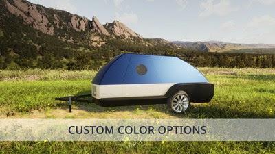Colorado Teardrops Boulder EV camping trailer
