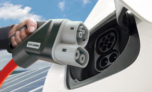 Combined Charging Standard (CCS) electric car charger