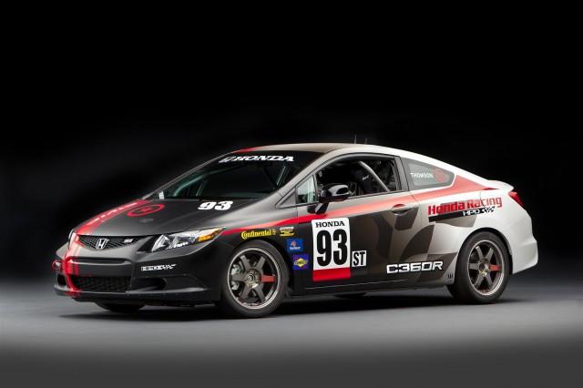 Compass360 Racing HPD Honda Civic Si Coupe Racecar