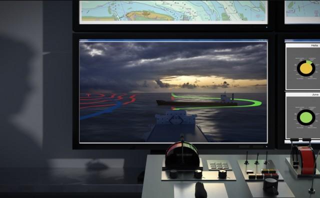 Concept autonomous ship guidance center