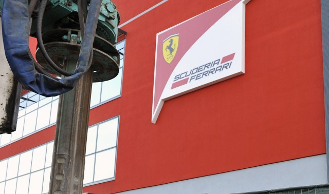 Construction of Scuderia Ferrari's new headquarters