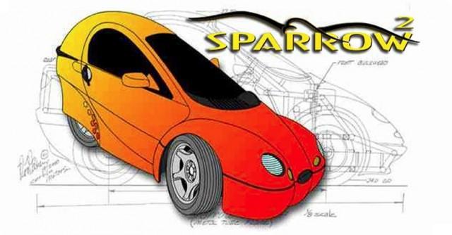 Corbin Sparrow 2 Single Seat Electric Car