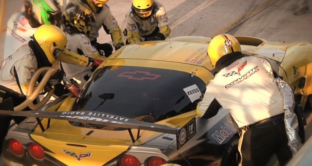 Corvette Racing pit crew does its magic