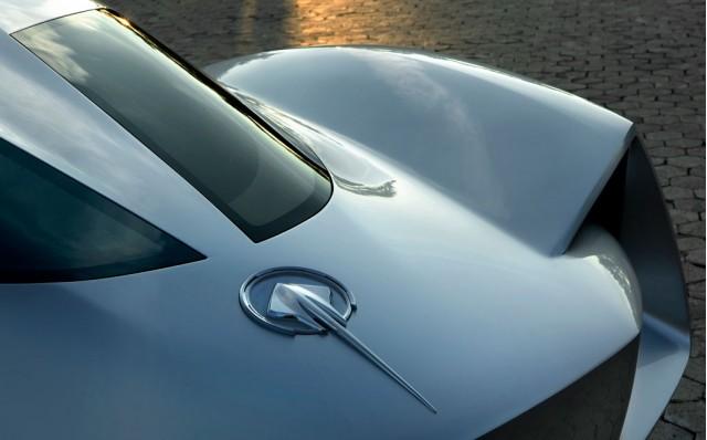 Corvette Stingray Concept split rear window