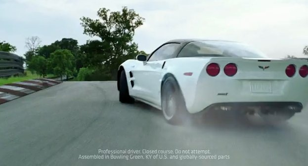 Corvette's new 'Rocket' ad