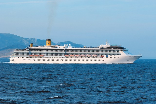 Cosat Atlantica cruise ship