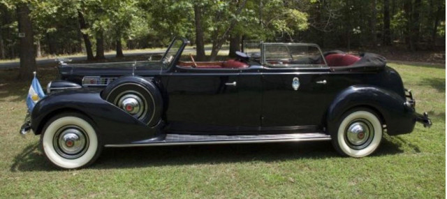 Couple spent 19 years restoring what turned out to be Person parade car   SoldASAP photo