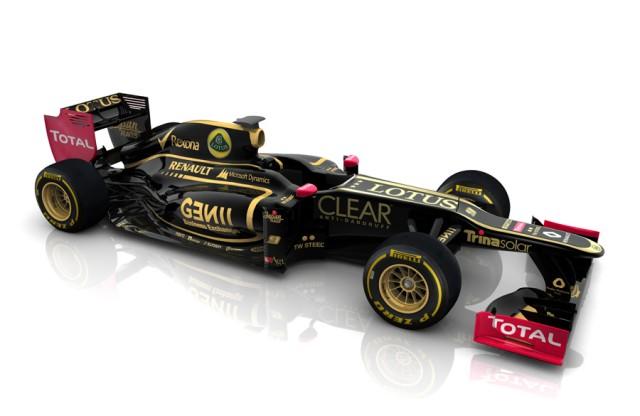 Courtesy Lotus F1 Team