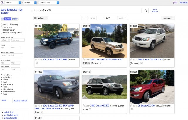 Craigslist mobile cars and trucks