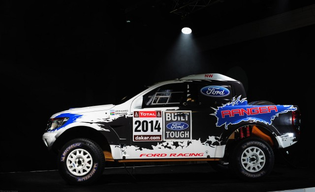 Custom Ford Ranger to be entered in 2014 Dakar Rally