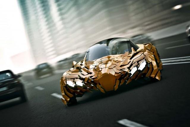 Da Feng's Flake concept car