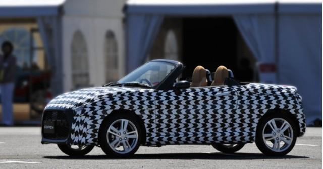 Daihatsu Copen teaser image (via Daihatsu Copen on Facebook)