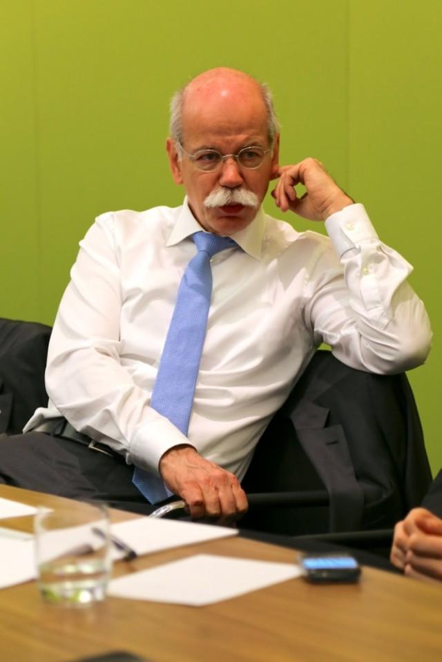 Daimler AG CEO Dieter Zetsche, 2013 Geneva Motor Show
