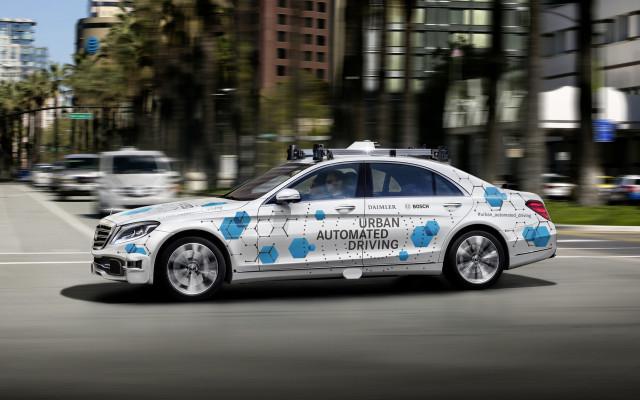 Daimler and Bosch self-driving car prototype