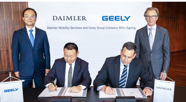 Daimler and Geely establish mobility joint venture in China