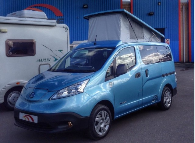 DalburyE Nissan e-NV200 camper van conversion by Hillside Leisure