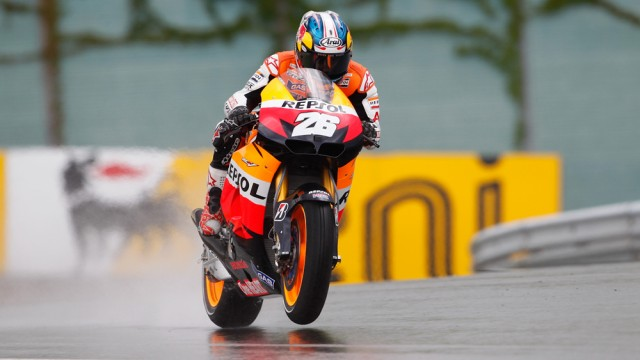 Dani Pedrosa was fast in wt and dry conditions - MotoGP photo