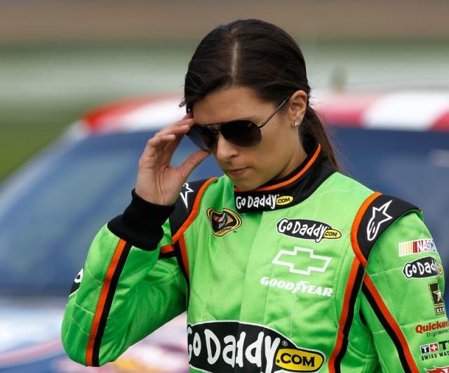 Danica Patrick - NASCAR photo from Daytona International Speedway