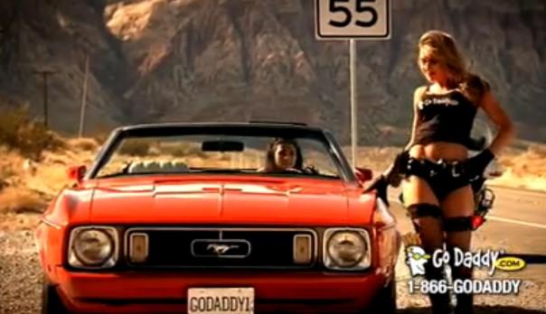Danica Patrick and the 'Speeding' ad for GoDaddy.com