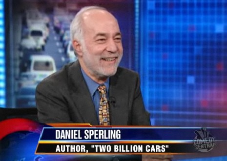 Daniel Sperling on The Daily Show, 2-11-09