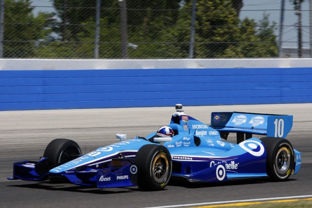 Dario Franchitti - Courtesy INDYCAR/LAT USA
