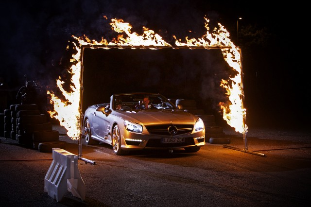 David Coulthard and Dynamo drive Mercedes-Benz SL63