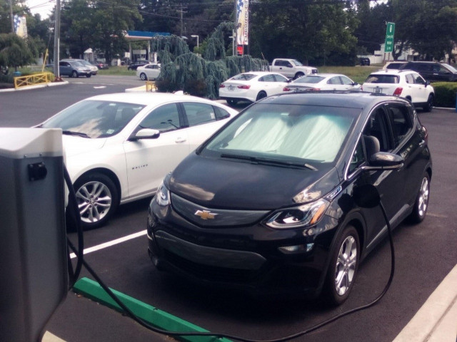David Edwards' Chevy Bolt EV charging