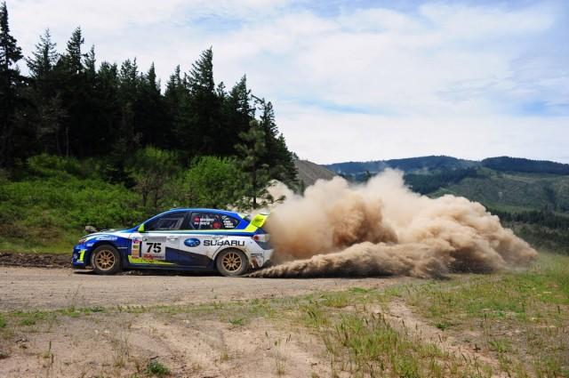 David Higgins returns to Subaru Rally Team USA to defend his 2011 championship.