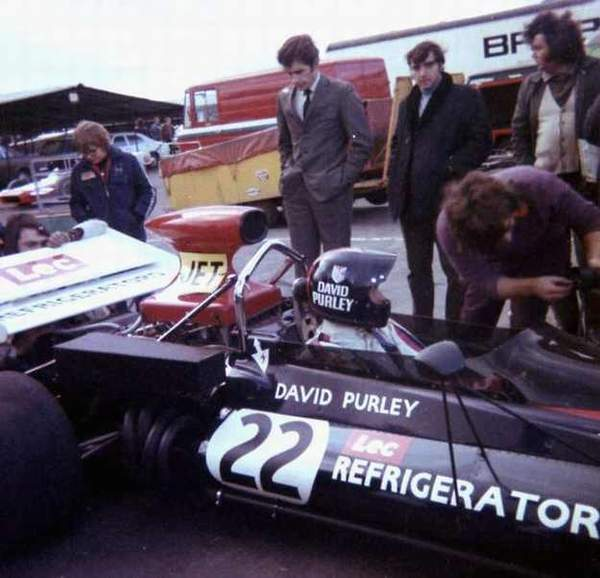 David Purley piloted the car in its last, non-championship, F1 entry