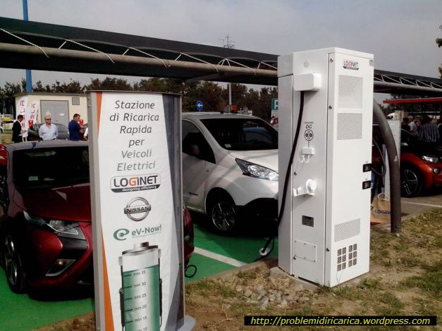 DC fast-charging station in Dorno, Italy, photo by problemidiricarica.wordpress.com/