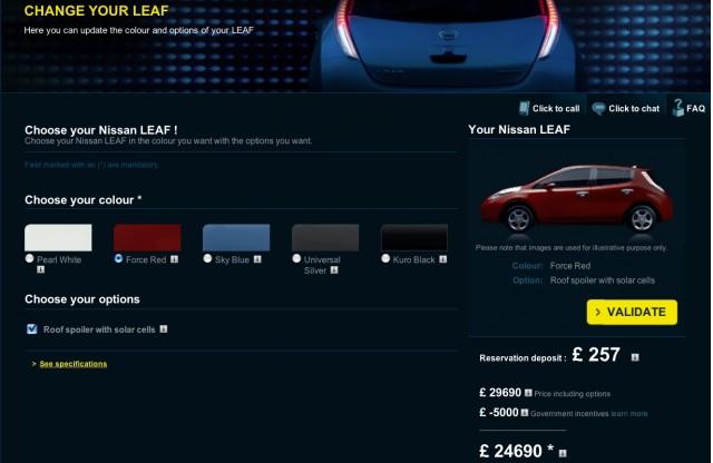 Dealer Chooser - 2011 Nissan Leaf