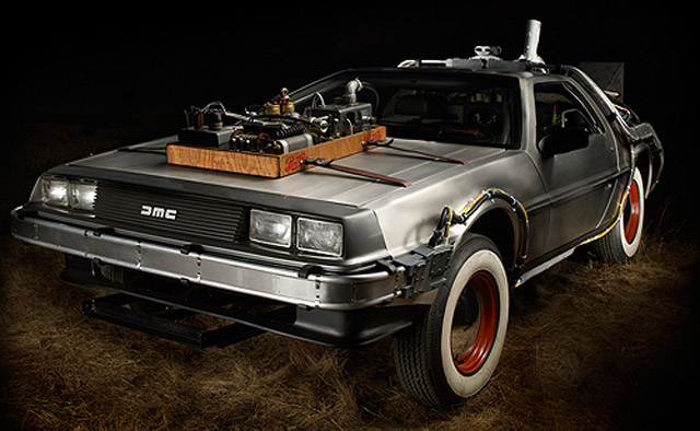 Back To The Future Delorean Time Machine S For 541k