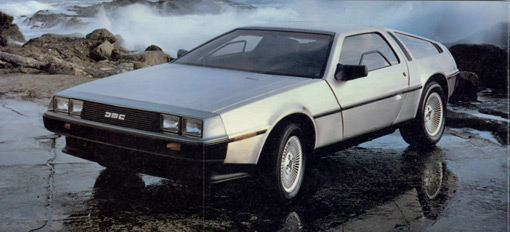 DeLorean gullwing could make a comeback