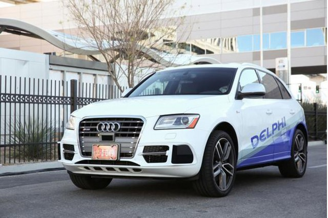 Delphi's self-driving Audi Q5 prototype