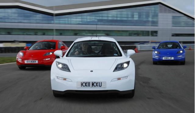 Delta Motorsport E-4 Electric Coupe